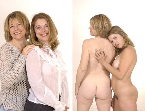 mother and daughter; Amateur