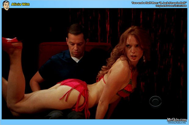 Gorgeous red head Alicia Witt striptease; Celebrity Red Head
