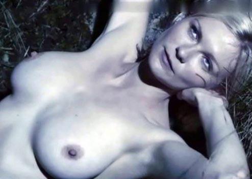 фото голая кристен данст