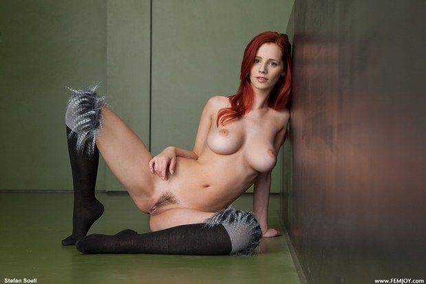hot girl; Hot Red Head