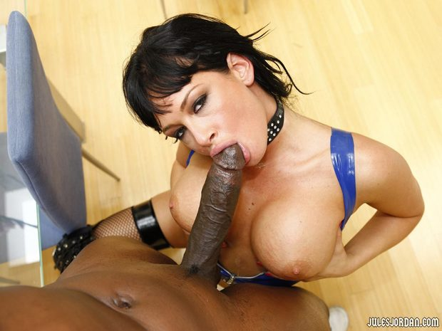...; Blowjob Interracial
