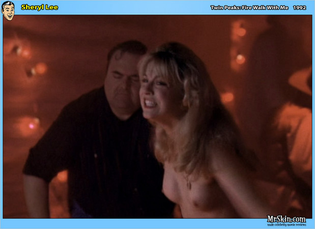 Sheryl Lee nude in the club; Celebrity