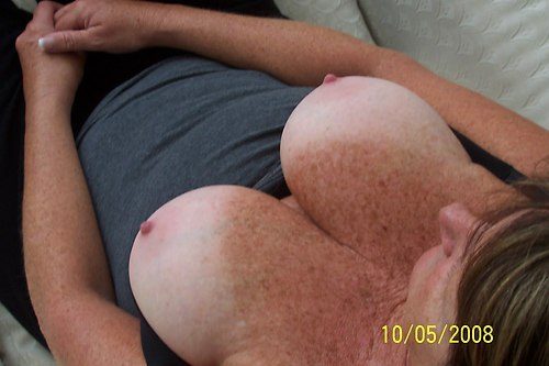 about a thousand freckles and nice tan lines on big tits; Babe Big Tits