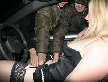 dogging in black stockings in the UK; Bbw Panties