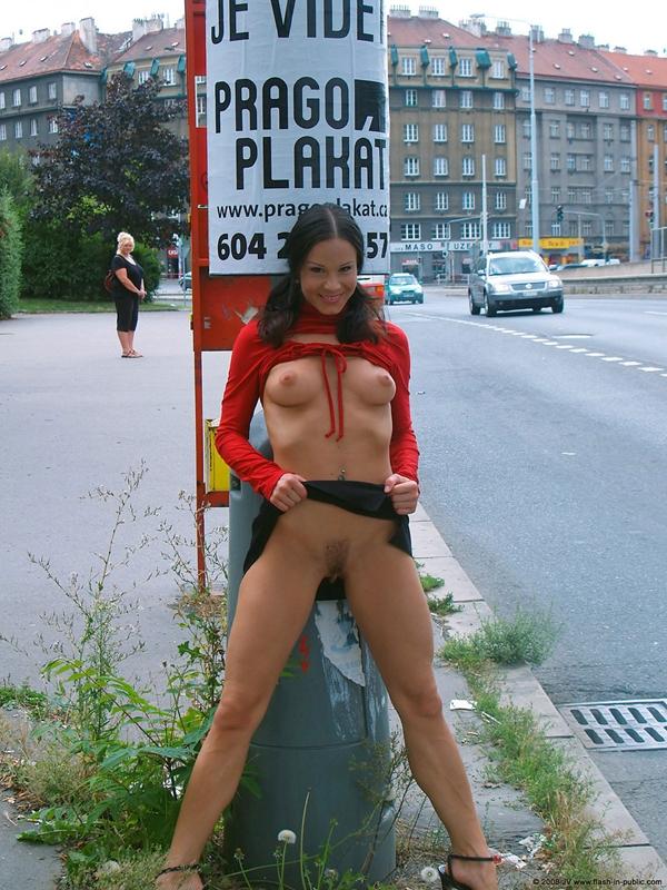 public flashing