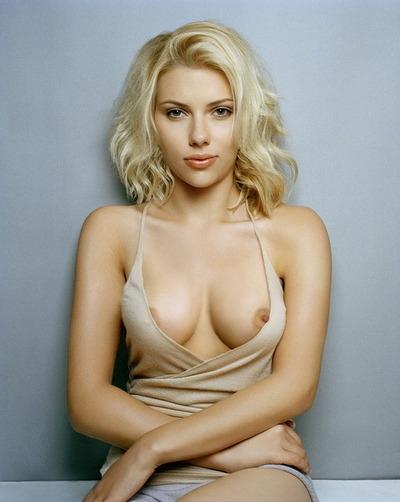Good Scarlett Johansson Fake; Babe Big Tits Celebrity Erotic