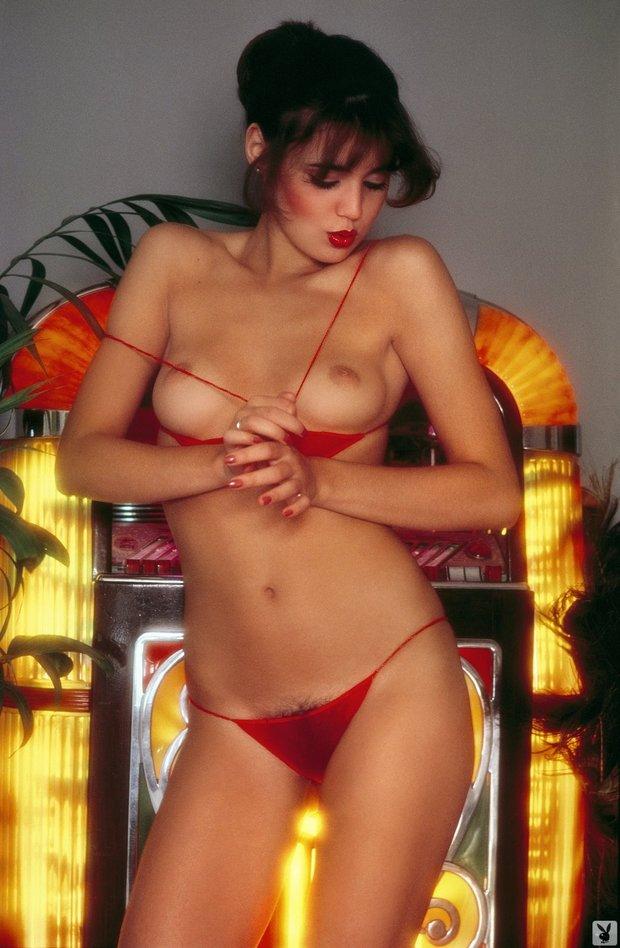 ...; Babe Brunette Hairy Hot Lingerie Pussy Vintage