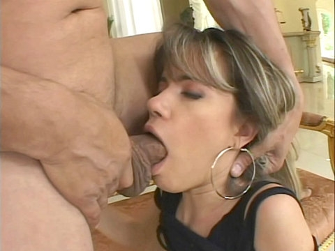 Milf deepthroat gagging horny girl