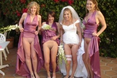 naked women doing funny stuff