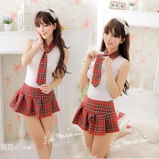 ...; And Clothing Blue Female Japan Japanese Korean Loadinggame Love Night Performance Pussy Sailor School Student Suit Uniform