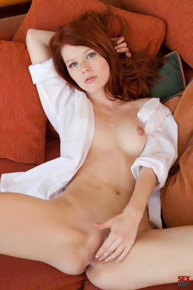 Hot redhead pussy