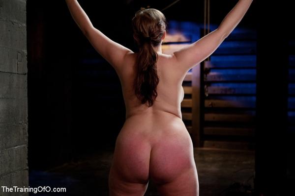 spanking-w; Ass Bondage