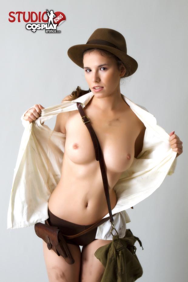 ...; Athletic Babe Big Tits Uniform