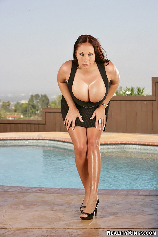 ; Babe Big Tits Brunette Pornstar