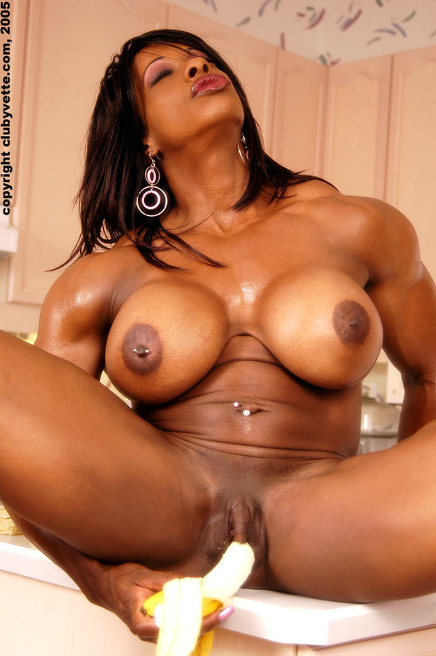 Huge ebony boobs tube