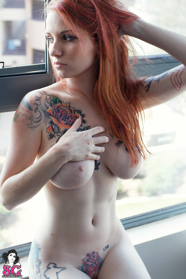 ...; Big Tits Emo Red Head
